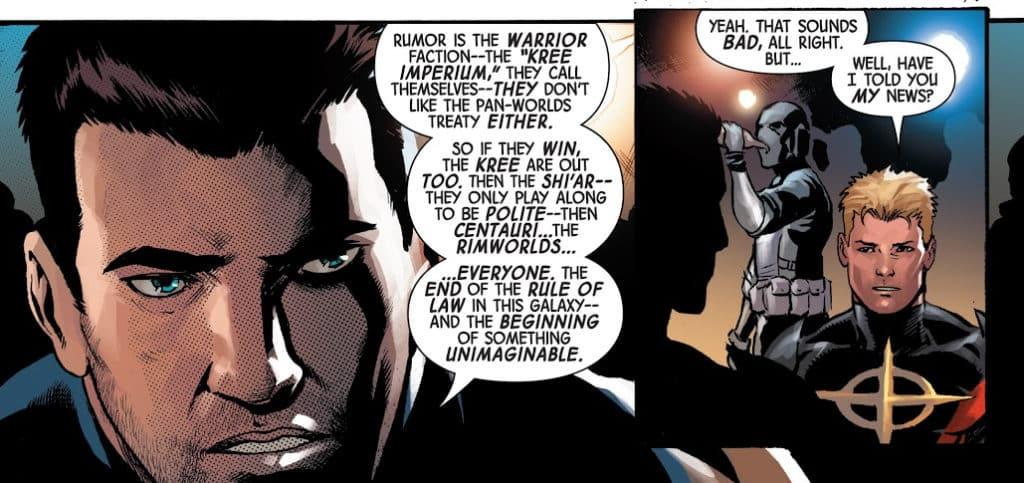 Donny Cates começa a pavimentar o cenário cósmico da Marvel 1