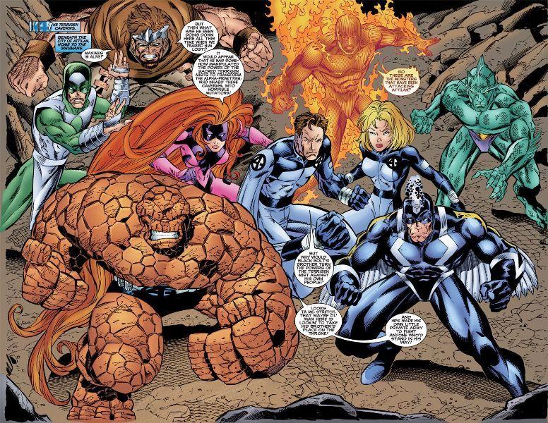 Marvel Estaria Planejando um Reboot de Inumanos 2