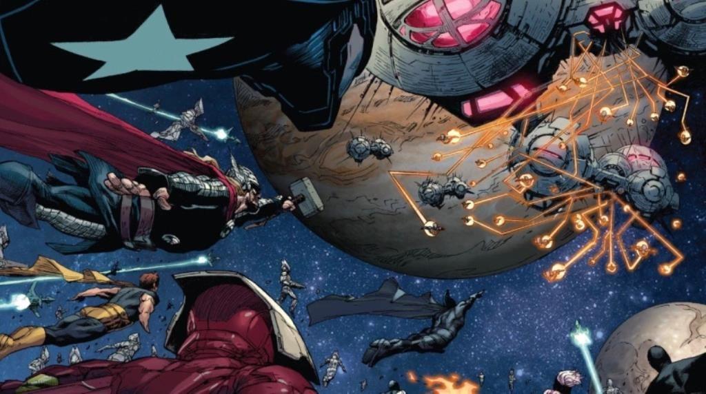 Vingadores Infinito de Jonathan Hickman - O Ultimato 4