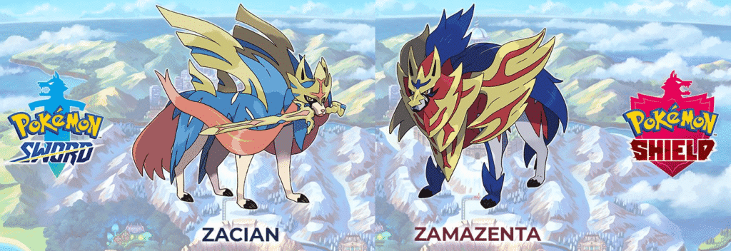 Descubra um novo mundo em Pokémon Sword & Shield! 6