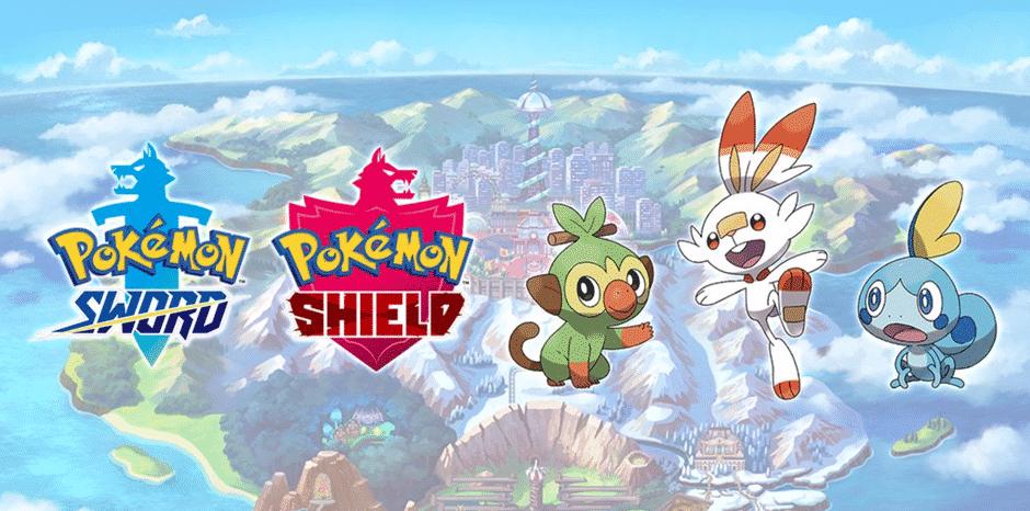 Descubra um novo mundo em Pokémon Sword & Shield!
