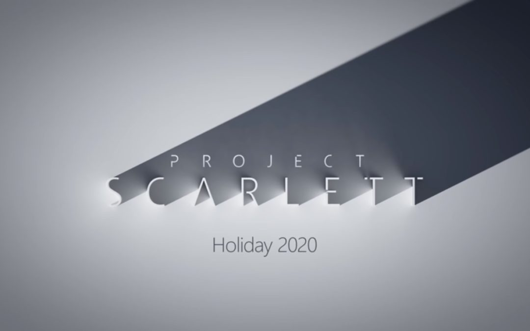 Microsof anuncia o Project Scarlett