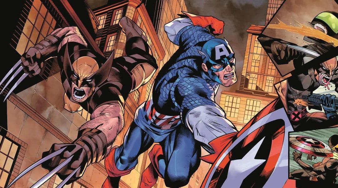 Wolverine e Capitão América enfrentam o passado