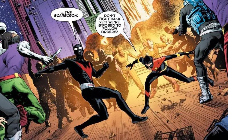 """Um Novo Espantalho Surge em """"Batman do Futuro"""" Vol.4 2"""