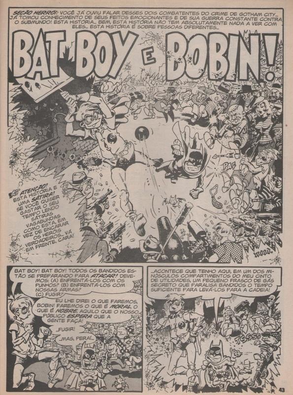 Bat Boy e Bobin! - A Primeira Sátira da MAD com o Batman 2