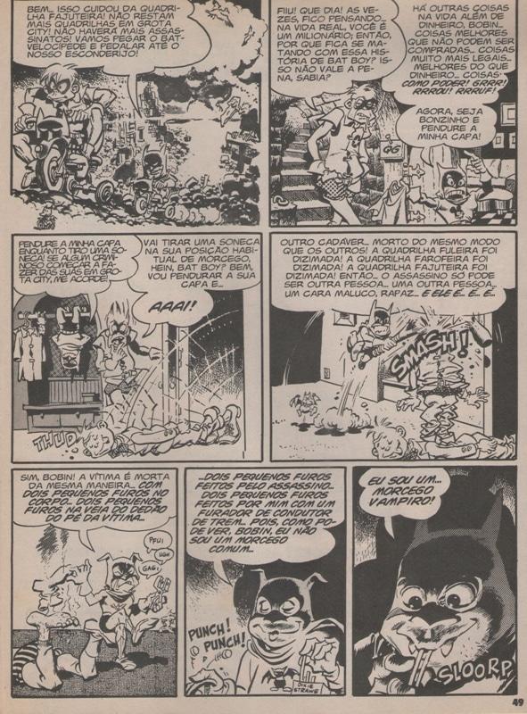 Bat Boy e Bobin! - A Primeira Sátira da MAD com o Batman 3