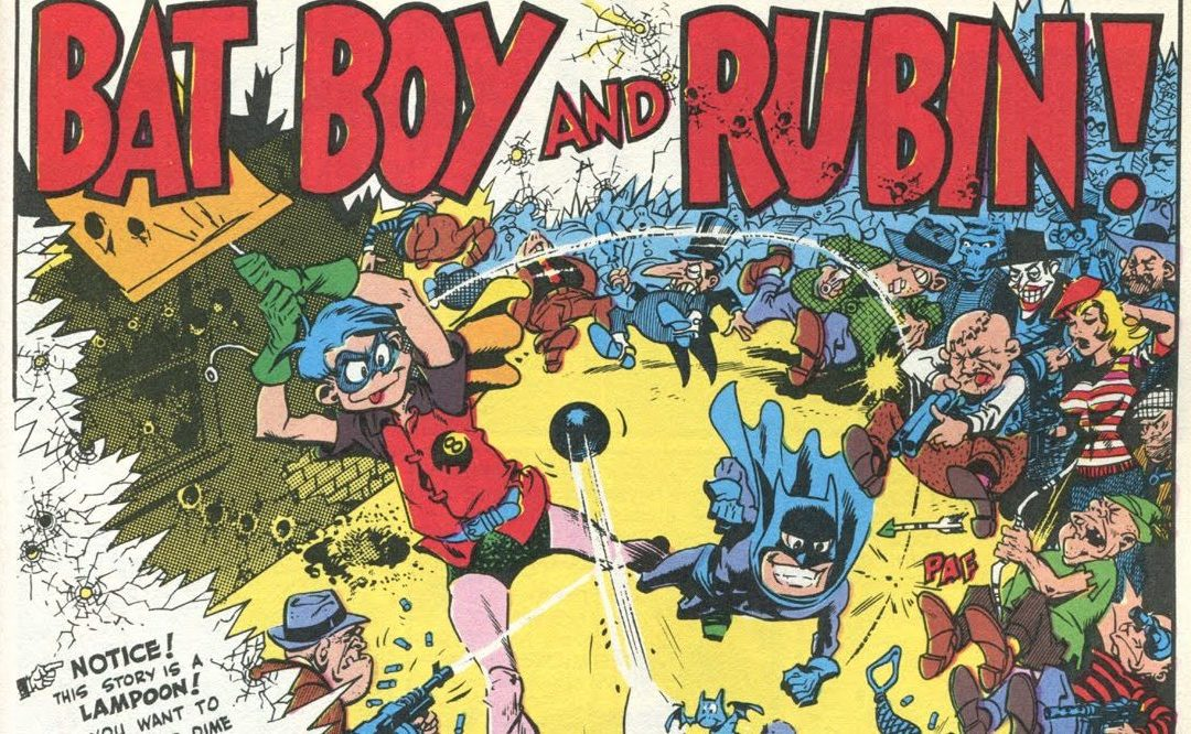 Bat Boy e Bobin! – A Primeira Sátira da MAD com o Batman