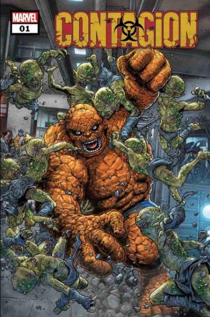 Marvel se torna contagiosa 1