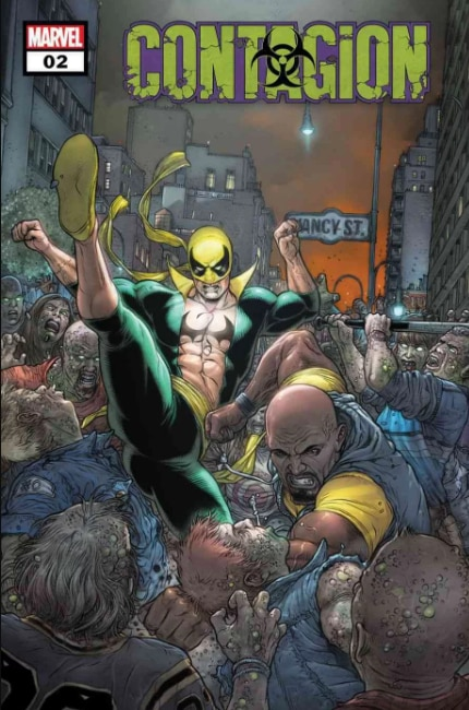Marvel se torna contagiosa 2
