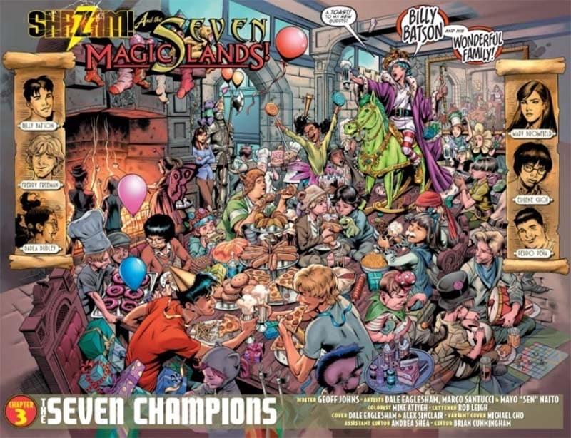 """O Desenvolvimento de """"Shazam"""" com Geoff Johns 1"""