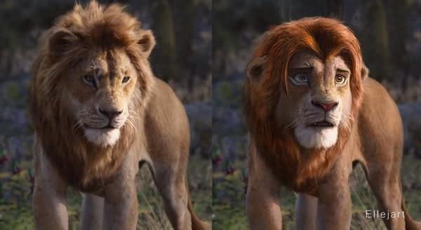O Rei Leão com arte inspirada na animação: confira!