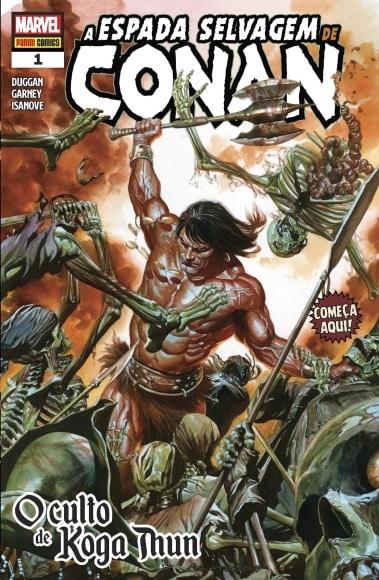 Conan - Panini Lança Três Linhas de Produto do Personagem 2