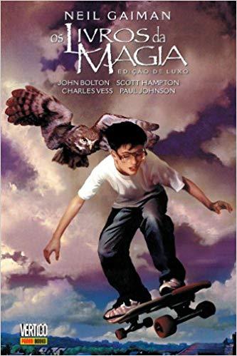 Os Livros da Magia de Neil Gaiman - Baú de HQs 1