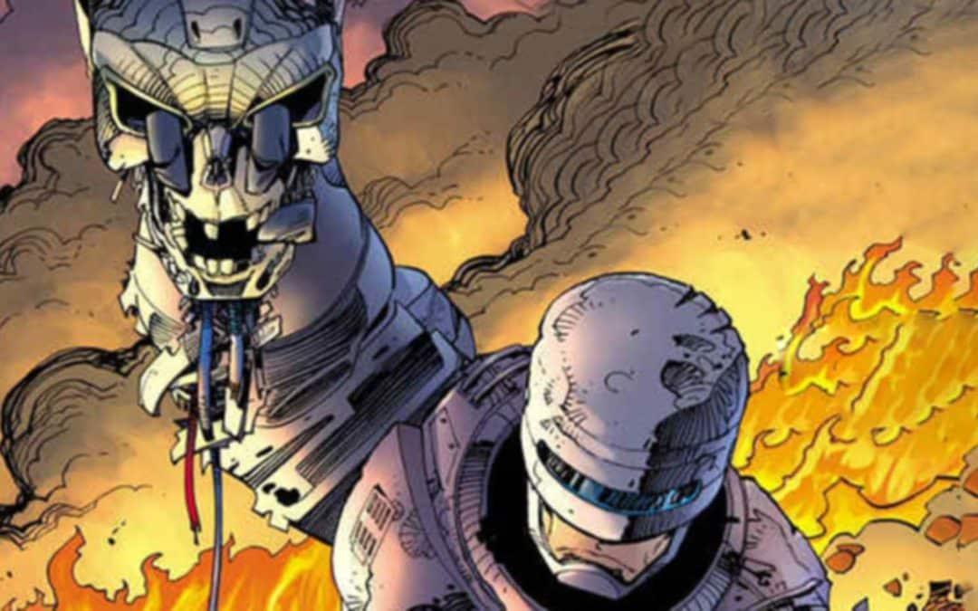 Baú de HQs – Robocop versus Exterminador do Futuro