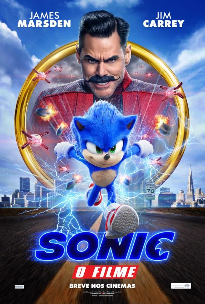 Paramount libera novo trailer e cartaz de Sonic: O Filme 1