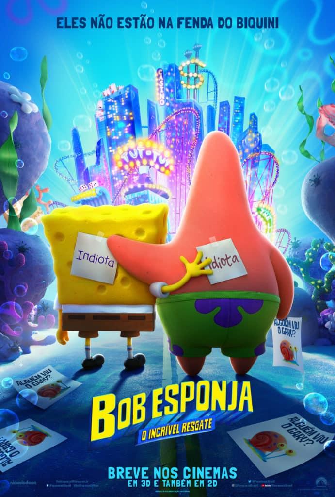 Bob Esponja: O Incrível Resgate ganha trailer e poster 1