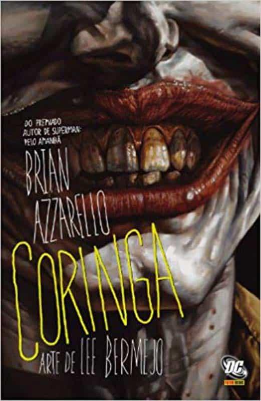 Coringa de Brian Azzarello - Baú de HQs 2