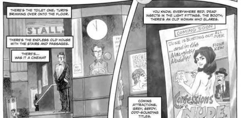 """Conheça """"Cinema Purgatório"""" de Alan Moore 1"""