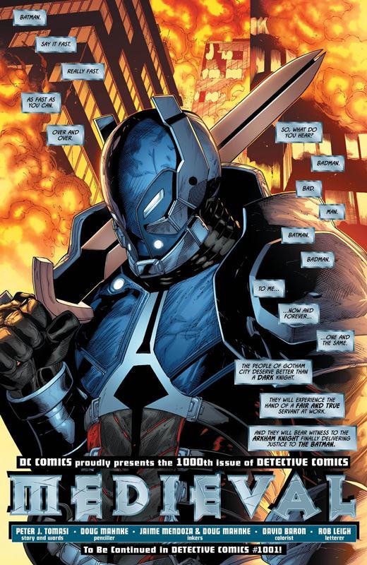 Detective Comics #1000 e suas Histórias 2