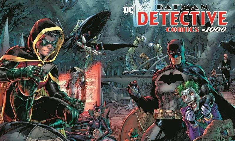 Detective Comics #1000 e suas Histórias