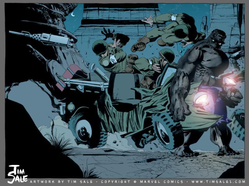 Hulk Cinza de Jeph Loeb e Tim Sale - Baú de HQs 2