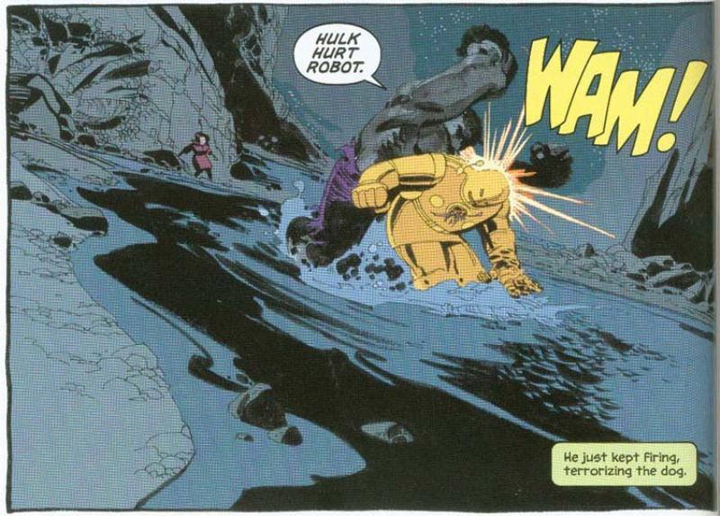 Hulk Cinza de Jeph Loeb e Tim Sale - Baú de HQs 1