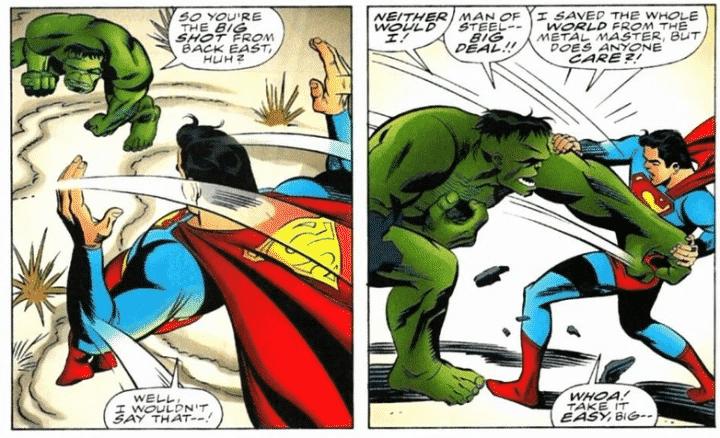 Os 5 Melhores Crossovers Marvel e DC 4