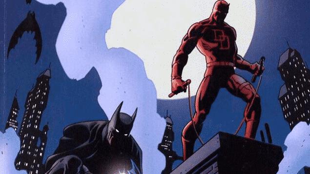 o encontro entre batman e demolidor é um dos melhores crossovers marvel e dc
