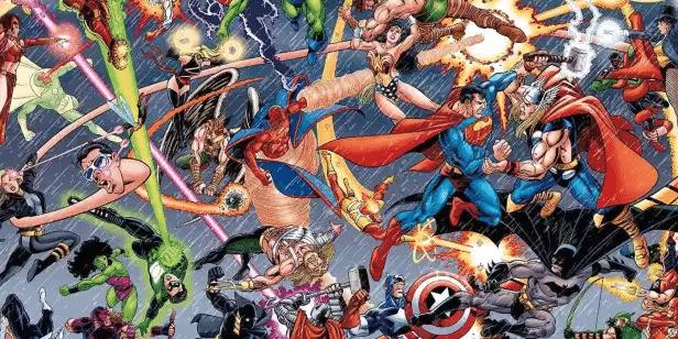 Os 5 Melhores Crossovers Marvel e DC 1