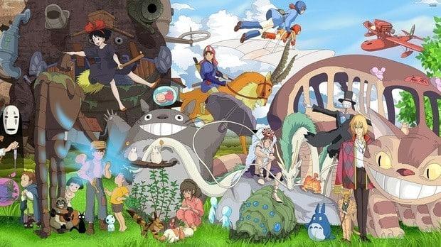 21 filmes do Studio Ghibli entrarão na Netflix
