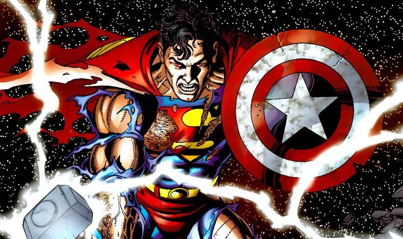 Os Cinco Melhores Crossovers entre Marvel e DC