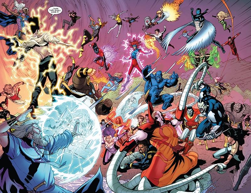 Fabulosos X-Men: A Queda e o Renascimento 1