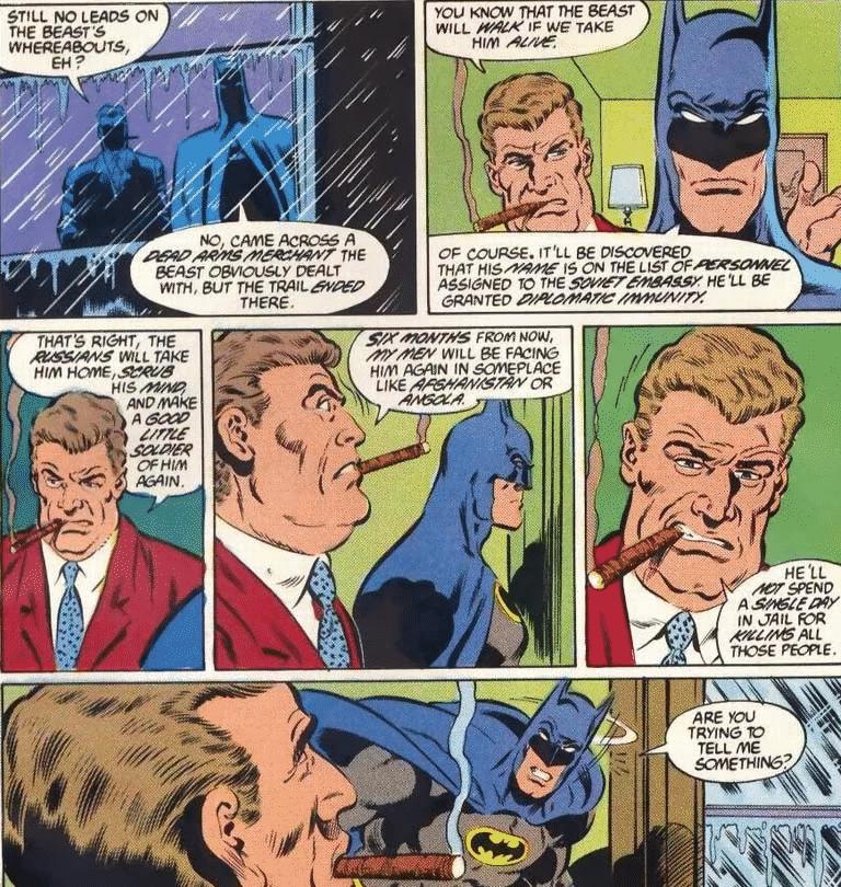 KGBesta Surge em Batman As Dez Noites da Besta (1988) 1