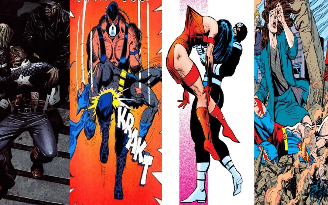 As 12 cenas icônicas da Marvel/DC