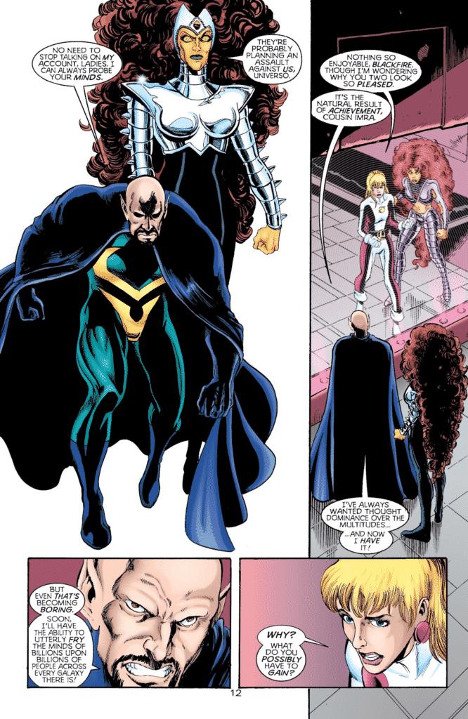 Titãs e Legião dos Super-Heróis - Universo Incandescente - Baú de HQs 2