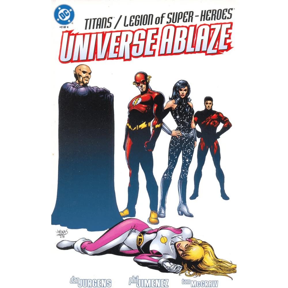 Titãs e Legião dos Super-Heróis - Universo Incandescente - Baú de HQs 1