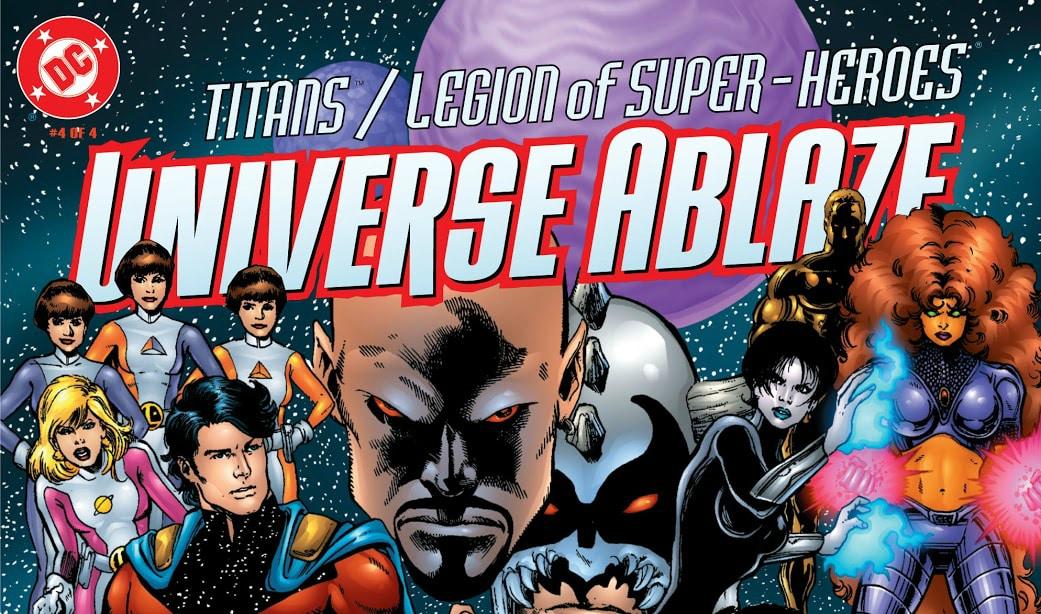 Baú de HQs: Titãs & Legião dos Super-Heróis – Universo Incandescente