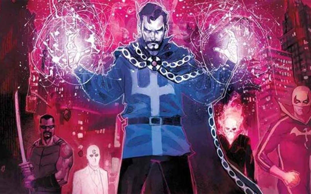 """Doutor Estranho: Danação – Uma saga """"infernal"""" da Marvel"""