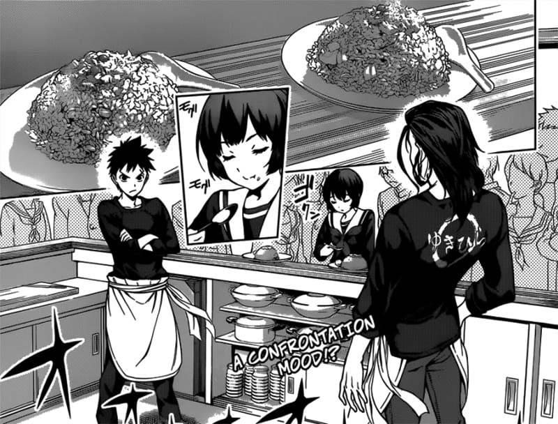 Conheça o Mangá Food Wars 1