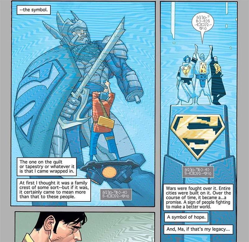 Superman O Legado das Estrelas - Baú de HQs 3