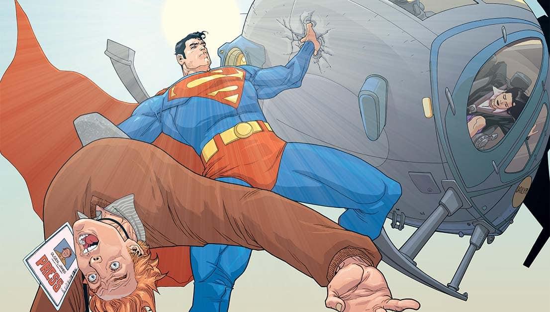 Superman Lois Lane Helicoptero Legado das Estrelas Mark Waid