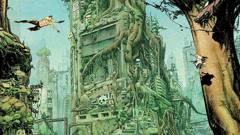 Conheça o mundo futurista de Tokyo Ghost 4