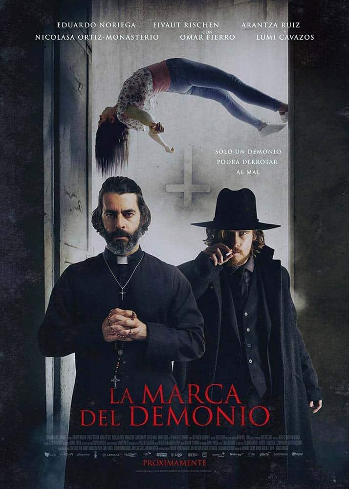 Poster de A Marca do Demonio, longa mexicano distribuido pela Netflix
