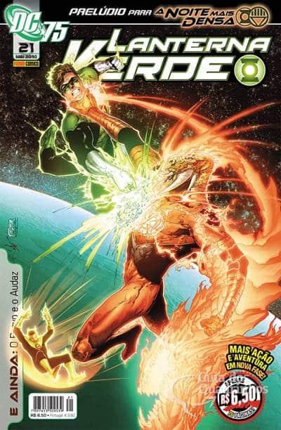 O Lanterna Verde de Geoff Johns - Guia de Leitura 112