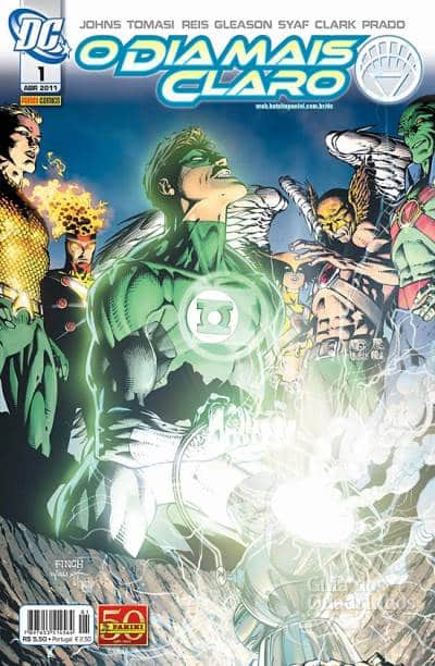 O Lanterna Verde de Geoff Johns - Guia de Leitura 171