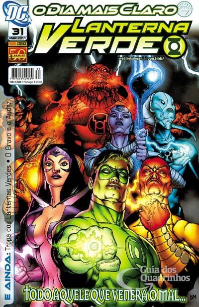 O Lanterna Verde de Geoff Johns - Guia de Leitura 148