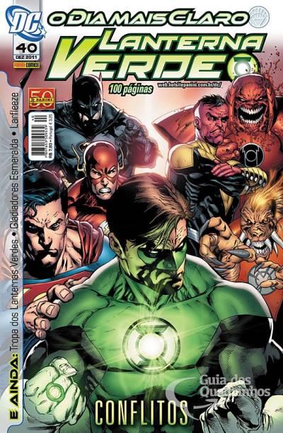 O Lanterna Verde de Geoff Johns - Guia de Leitura 157