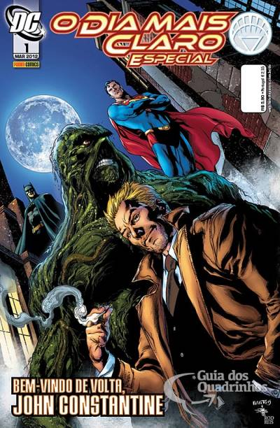 O Lanterna Verde de Geoff Johns - Guia de Leitura 169