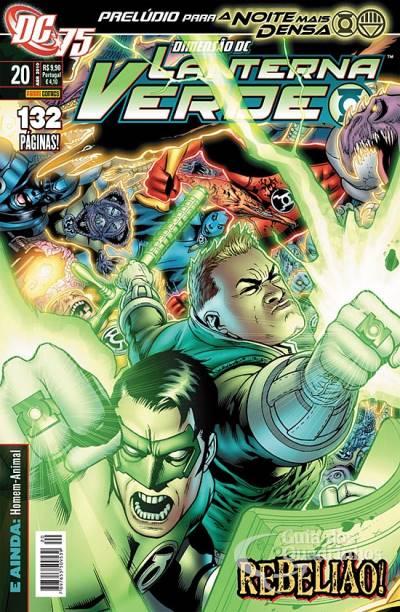 O Lanterna Verde de Geoff Johns - Guia de Leitura 111