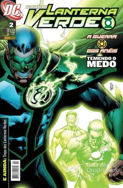 O Lanterna Verde de Geoff Johns - Guia de Leitura 92